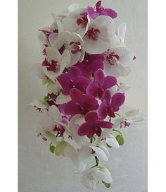 Orchid Bouquets for Brides | ... bouquet made with fresh orchid flowers if you plan on growing orchids