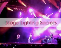 New Blog Post | The Art & Craft of a Stage Lighting Designer