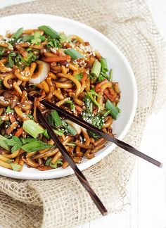 15 Minute Spicy Udon