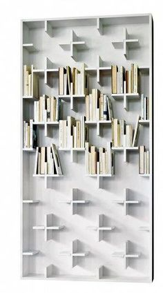 Casual Bookshelf Design Ideas To Decorate Your Room 19 – Home Design Minimalist Bookshelves, Bookshelf Design, Bookshelf Ideas, Book Shelves, Modular Bookshelves, Black Bookshelf, Vintage Bookshelf, White Bookshelves, Modern Bookshelf