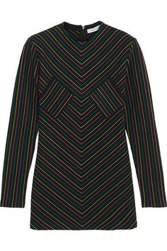J.W.Anderson - Striped Cotton-jersey Top - Black -