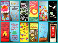 Crafty Sisters - Decorate a teacher's door to show appreciation!