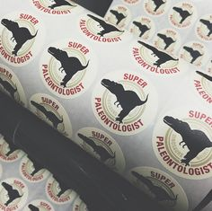 Project Dinosaur stickers!