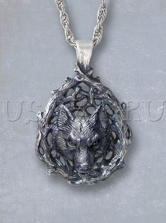 Hey, I found this really awesome Etsy listing at https://www.etsy.com/listing/230232592/silver-wolf-pendant-pagan-jewelry-beast