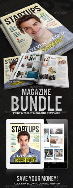 Magazine Bundle, save your money
