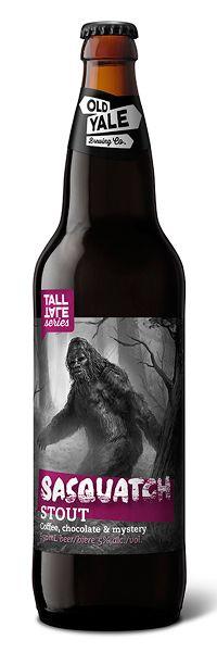 Subplot Design Inc. Sasquatch Stout | Old Yale Brewing