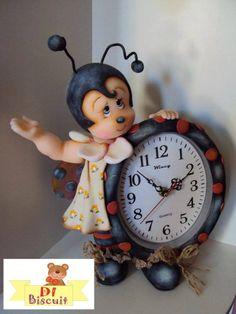 Reloj con mariquita