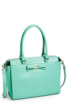 mint bow bag #katespade