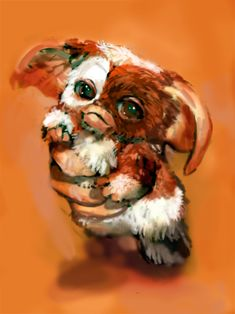 Gremlins Gizmo, Easy Disney Drawings, Sculpture Lessons, Fanart, Old Tv Shows, Sphynx, Cute Creatures, Christmas Movies, Macabre