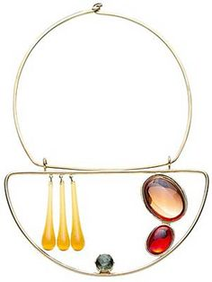 Necklace |  Club Monaco.  Alexander Calder Inspired Piece.