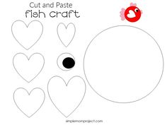 Here's a simple, summer craft your kids will love! This free printable heart fish craft is an ideal way for toddlers to learn the Letter F or as an art project at kindergarten. With easy to follow step by step instructions, you kids will have their own diy cards ready in no time! Click here