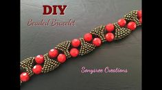 Designer Statement Bracelet Beaded bracelet DIY bracelet