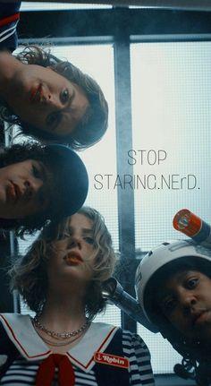 Stranger Things Tumblr, Stranger Things Steve, Stranger Things Aesthetic, Stranger Things Netflix, Robin, More Wallpaper, Ms Gs, Millie Bobby Brown, Skull Art
