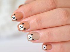 cool Nouvelle vidéo tuto nail art : Rilakkuma - Nail art - Le blog de Yoko