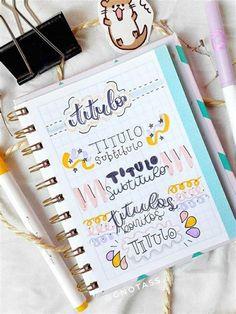 Pin De { Céleste } En Apuntes | Apuntes, Libreta De Bullet Journal School, Bullet Journal Titles, Bullet Journal Banner, Journal Fonts, Bullet Journal Lettering Ideas, Bullet Journal Notebook, Journaling, Bubble Drawing, Doodle Lettering