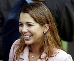 Beautiful: 40-year-old Princess Haya of Jordan is married to Dubai's Sheikh Mohammed bin R...