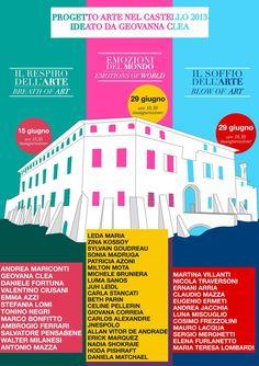Mes oeuvres à Fombio en Italie ! :)   My works in Fombio, Italy ! :)  https://www.facebook.com/celine.pellerin.3#!/events/484872961591695/…