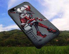 Harley Quinn 4 iPhone 4/4s iPhone 5/5S/5C/6 Samsung by jambaru