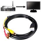 HDMI To 3-RCA Video Audio AV Component Converter Adapter Cable 5ft For HDTV FT