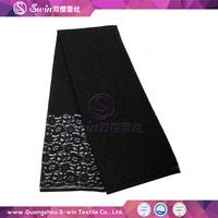 Lace drapery fabric and nylon mesh fabric with apparel textile machinery