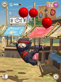 Clumsy Ninja Apk Full 1.16.0 Data Hile Mod