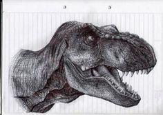 Awesome tyrannosaurus series
