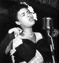 "Women's History Post of the Day: Eleanora Fagan from Philadelphia, PA was better known as Billie Holiday aka ""Lady Day"". A famous jazz singer Billie Holiday has been credited with changing the art of singing pop vocals forever with the way she captivated audiences with the intense and personal feeling of classic blues. One of her greatest assets was the way she poured her heart and soul into every song and her ability to interpret a song and make you feel as if you never heard it before."