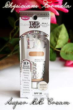 Physicians Formula Super BB Cream -best coverage of any of the OTC BB creams I have used! plus has the highest SPF of them all and does not make skin oily! Blemish Balm, Tinted Moisturizer, Facial Cleanser, Bb Beauty, Beauty Cream, Bb Cream Before And After, Physicans Formula, Make Up, Amigurumi