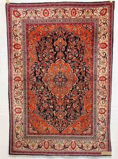 Isfahan, um 1920, 210 x 143cm, Zustand C
