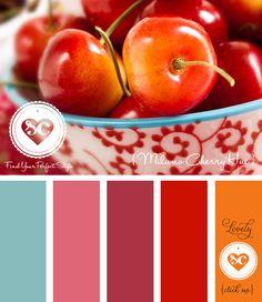 126 Milano Cherry Hue by Asmalina © 2012 Sorbetcolour ™