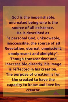 God is the imperishable, uncreated being who is the source of all e...# Bahai #God #Religion #Faith #unity