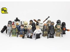 LEGO STAR WARS ROGUE ONE ALL SET MINIFIGURES 2016 - Video --> http://www.comics2film.com/lego-star-wars-rogue-one-all-set-minifigures-2016/  #StarWars