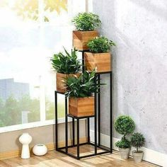24 Ideas indoor container garden ideas house plants for 100 Beautiful DIY Pots And Container Gardening Ideas . Decor, Diy Garden, Garden Design, Planter Stand, Diy Pots, Plant Decor, House Plants Decor, Beautiful Gardens, Indoor Plants