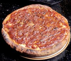 Chicago-Style Deep Dish Pizza Recipe in Wood Fired Oven - ilFornino, New York Wood Oven Pizza, Diy Pizza Oven, Pizza Recipes, Smoker Recipes, Oven Recipes, Wood Fired Pizza Dough Recipe, Fire Pizza, Pizza Pizza, Chicago Style Pizza