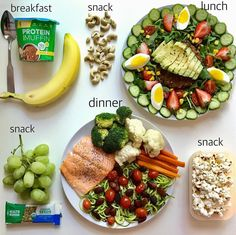Healthy Recipes 1800 Calorie Meal Plan Starting out my day with a protein muffin mug as there's nothing cozier tha - Health and Nutrition Healthy Meal Prep, Healthy Snacks, Healthy Eating, Healthy Recipes, Clean Eating, Protein Recipes, Healthy Breakfasts, Dinner Healthy, Protein Foods