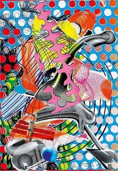 FRANK STELLA - PRINCE OF HOEHENFLEISS - KUNZT.GALLERY http://www.widewalls.ch/artwork/frank-stella/prince-of-hoehenfleiss/ #Print