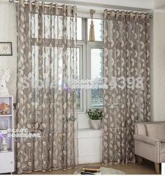 Cheap gold sheer curtains, Buy Quality curtains for directly from China sheer curtains Suppliers: High quality morden grey beige gold sheer curtain for bedroom balcony living room window curtains cortinas for window tulle