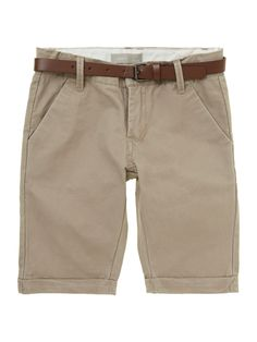 Dress your little man up or down with these Name It Boys Chino Shorts!
