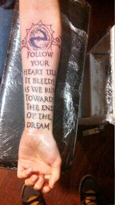 My Evanescence Tattoo