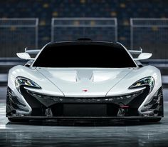 Now drool‼️ White #McLaren #P1 #GTR on Track