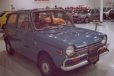 """At just 10 feet long, the #N600 was even smaller than American """"compact"""" cars. #FirstHonda"""