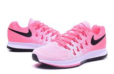 new product e6d0f 2cb2d Nike Air Zoom Pegasus 33 pink white black shoes Womens