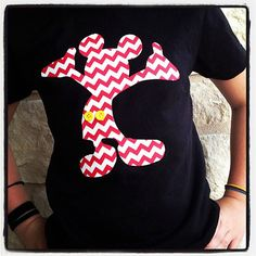 Chevron Mickey Mouse Disney World Vacation Shirt custom t shirt, kids or adults