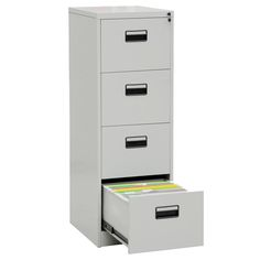 Factory wholesale price office furniture steel filing cabinet locking 4 drawer metal file cabinet