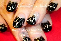 #DIY #Chandelier #Nails! | #Easy and #Elegant #NailArt #Design #Tutorial