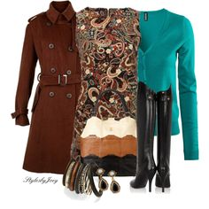 Paisley Dress, created by stylesbyjoey on Polyvore