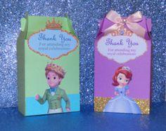 12 Sofia Party Favor Bags Princess Sofia Goody Bag Sofia the