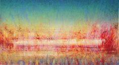 Rød morgen Abstract, Artwork, Painting, Summary, Work Of Art, Auguste Rodin Artwork, Painting Art, Artworks, Paintings