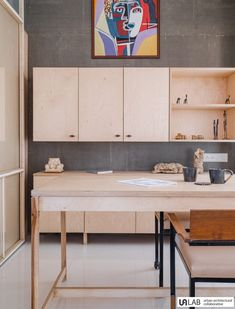 Placid Hues: A Tranquil Studio Space With Minimal Interiors | UA Lab - The Architects Diary