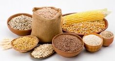 Alimentacao saudavel: cereais e graos